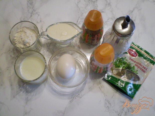 Рецепт Универсальный кляр для овощей и мяса