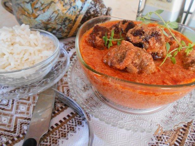 Мясные котлетки по-индийски