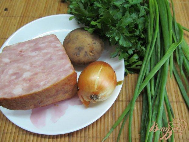 Рецепт Ветчина в картофельной шубе