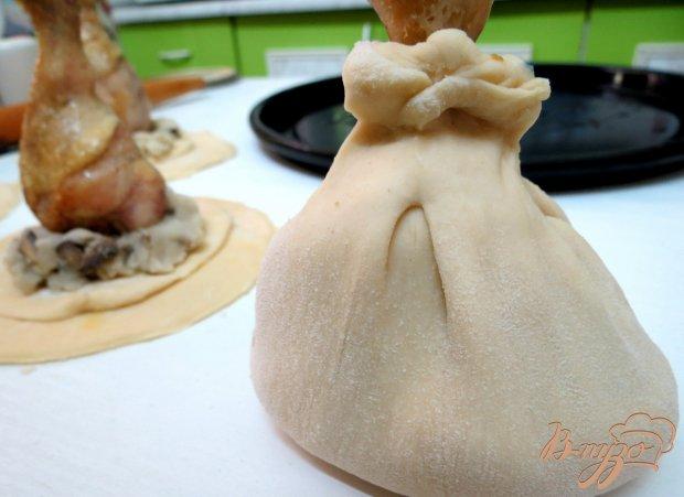 Куриные голени в мешочке