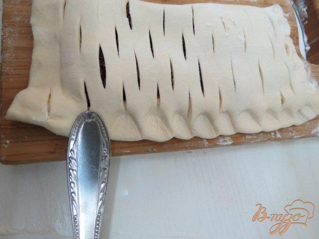 Слоёный пирог с повидлом