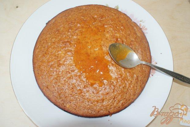Абрикосовый пирог с лесными орешками