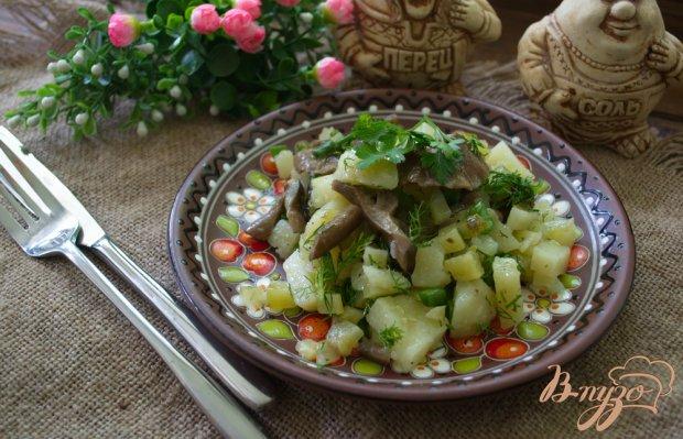 """Салат овощной """" Опенок """""""