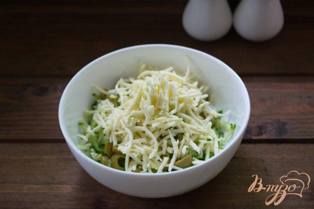 Салат весенний с брынзой