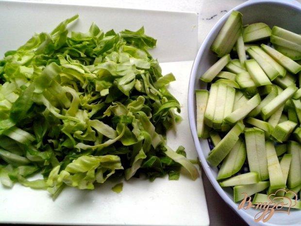 Нежное рагу из молодых овощей