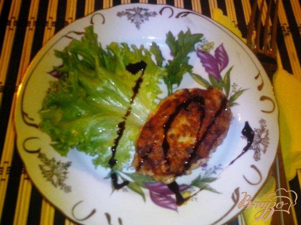 Котлеты из мяса индейки с крабовыми палочками