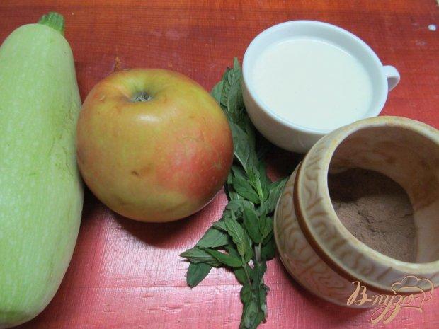 Рецепт Смузи из яблока и кабачка