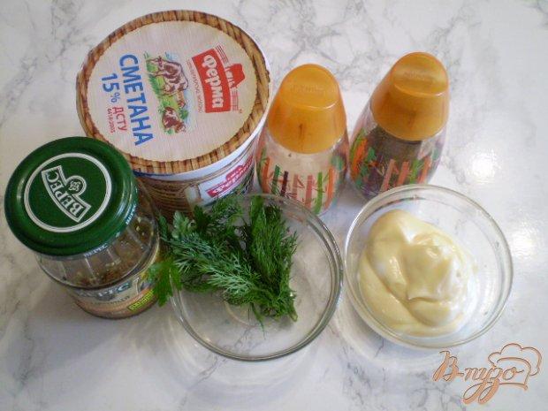 Соус для заправки овощных салатов