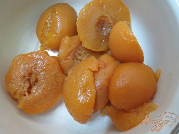 Мусс с персиками