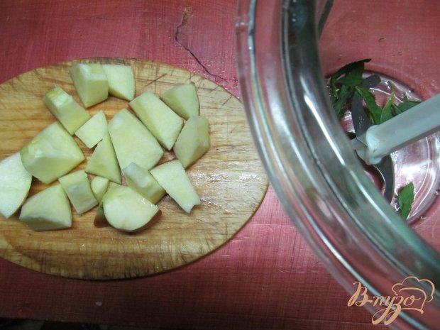 Смузи из яблока творога и апельсина