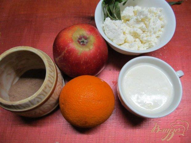 Рецепт Смузи из яблока творога и апельсина