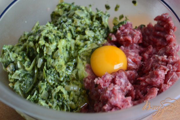 Котлеты с кабачком и шпинатом