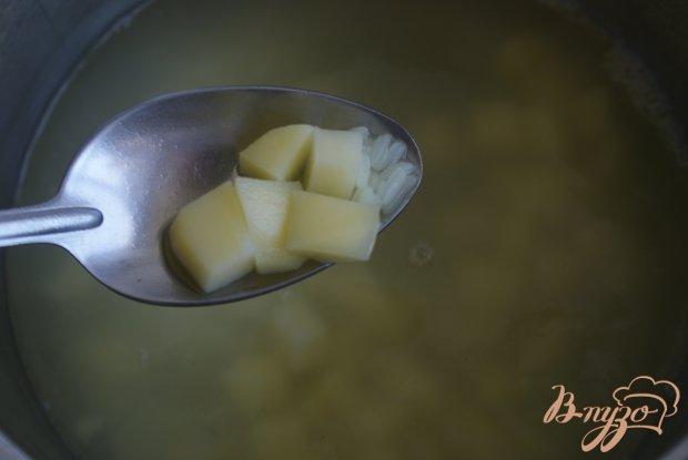 Детский овощной суп-пюре с рисом