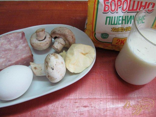 Рецепт Крокеты с ветчиной и грибами