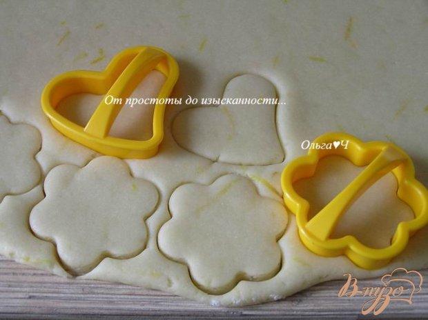 Хрустящее лимонное печенье