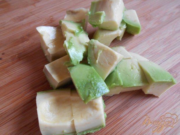 Смузи из клубники и авокадо