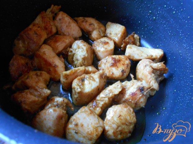 Свинина с рисом и кабачками