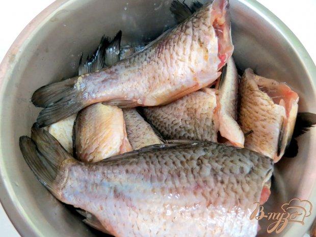 Рецепт Караси жареные в панировке с кунжутом