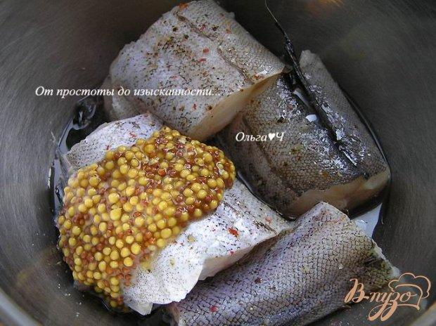 Рецепт Минтай, запеченный в фольге с луком