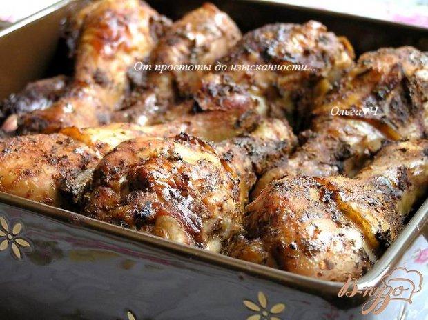 Куриные ножки в пряном томатном маринаде