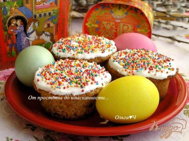 Праздничные пасхальные кексы