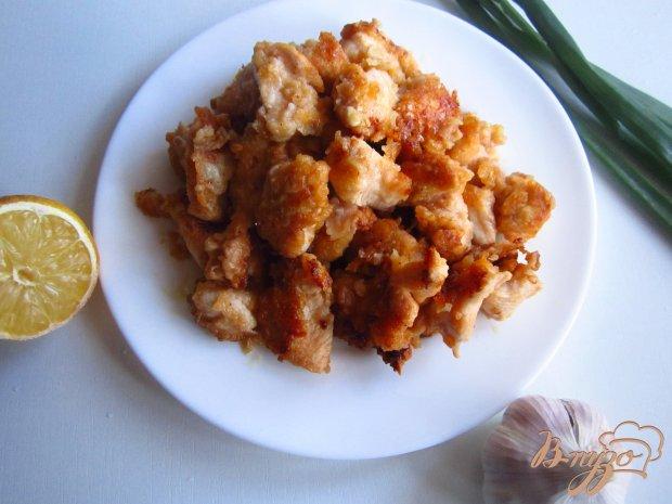 Куриное филе в кляре с кунжутом