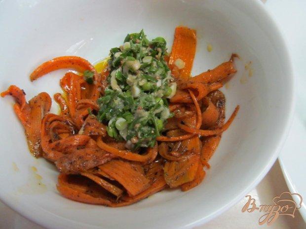 Теплый салат из моркови