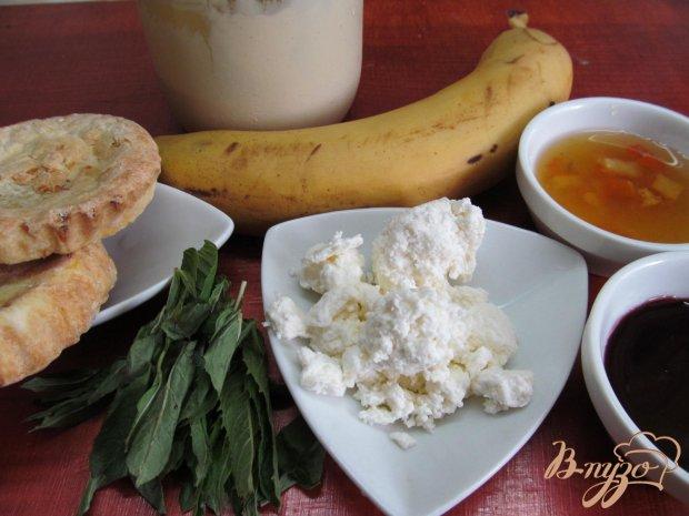 Рецепт Десерт из творога и банана