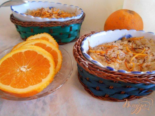 Рисовый пудинг с корицей и апельсином