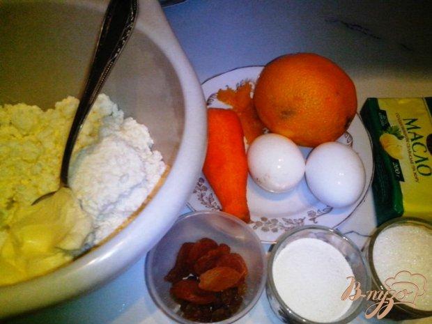 Рецепт Творожная запеканка с морковью и сухофруктами в мультиварке-скороварке