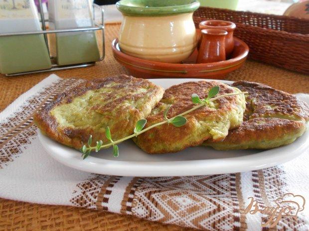 Картофельно- шпинатные оладьи