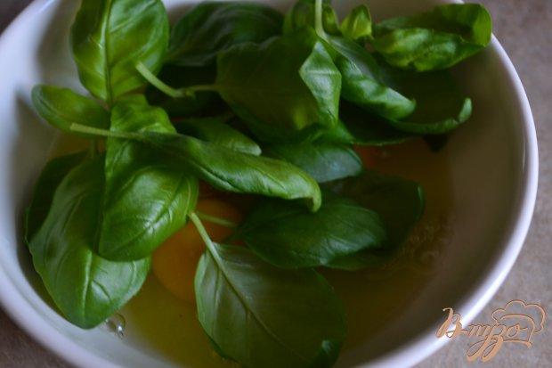 Рецепт Домашняя паста с базиликом