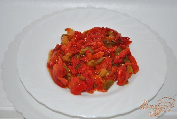 Суп с перцами и фасолью