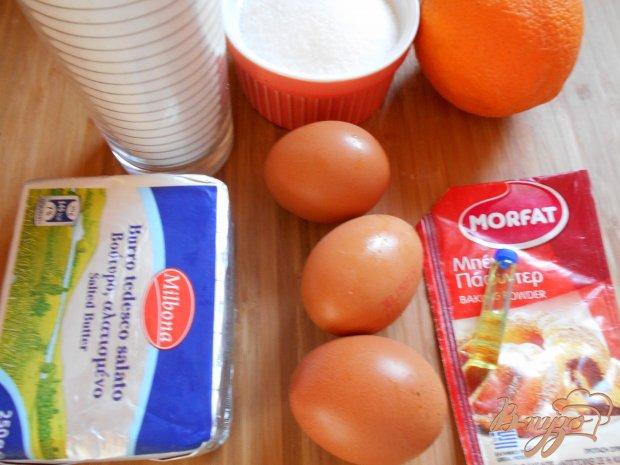 Рецепт Апельсиновые мадлен