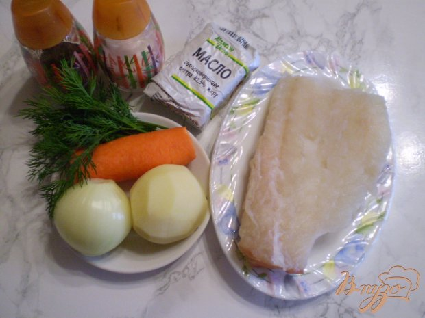 Рецепт Суп из минтая с маслом и укропом