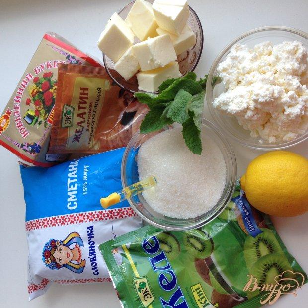 Рецепт Желейный торт без выпечки с цитрусовым вкусом