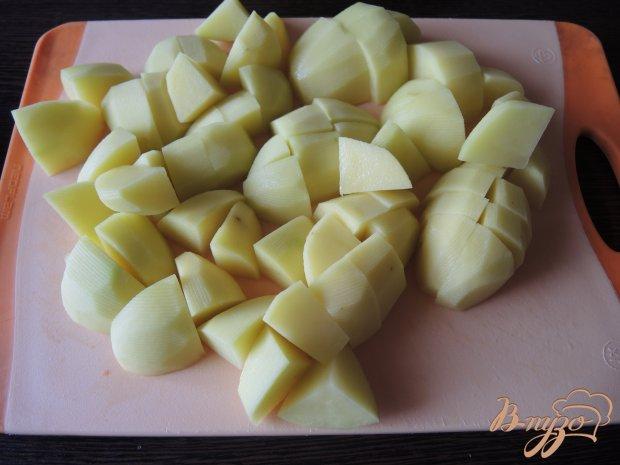 Тушеная оленина с овощами