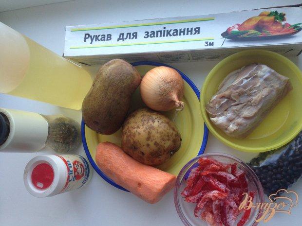 Рецепт Жаркое с можжевельником запечённое в рукаве