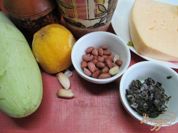 Рецепт Теплый салат из кабачка