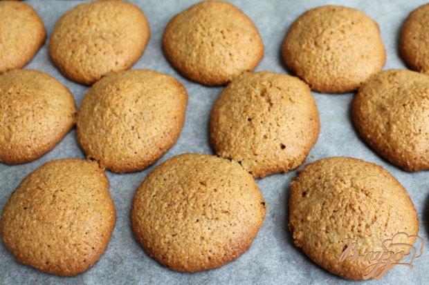 Овсяное печенье с имбирем и корицей