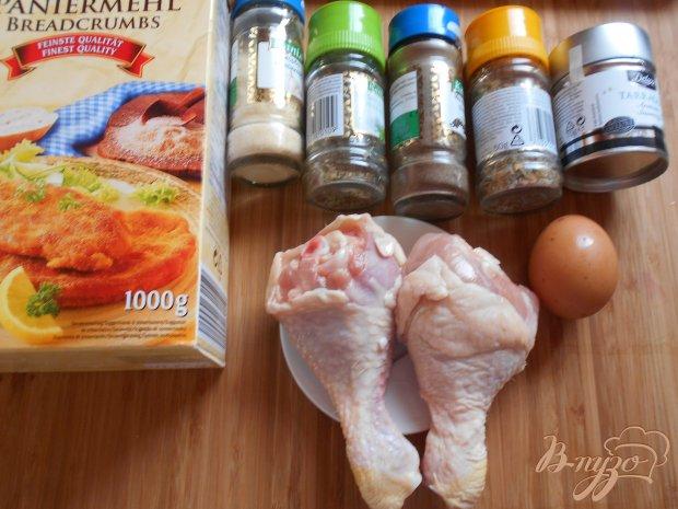 Рецепт Куриные ножки в ароматной панировке