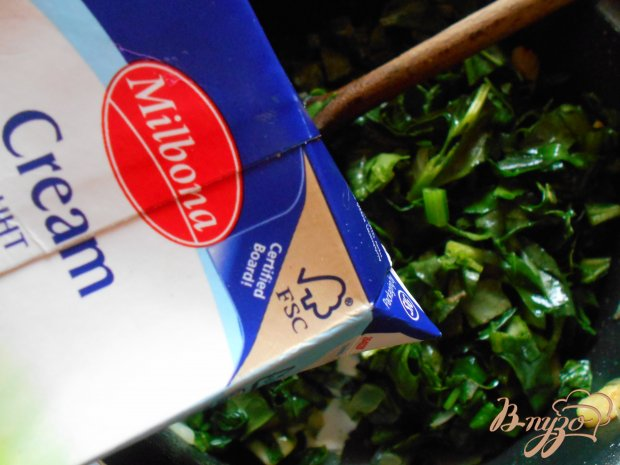 Суп -пюре со шпинатом и цуккини