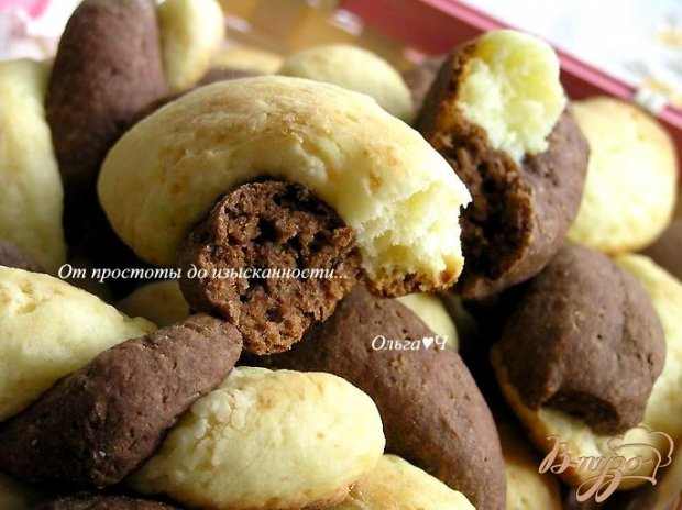 Творожно-шоколадные булочки