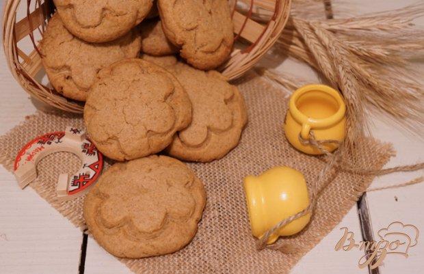 Печенье с арахисовой пастой на полбовой муке