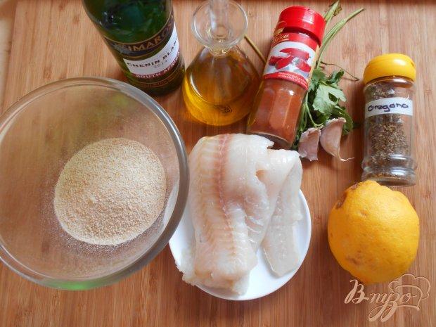 Рецепт Филе рыбы под хрустящей корочкой
