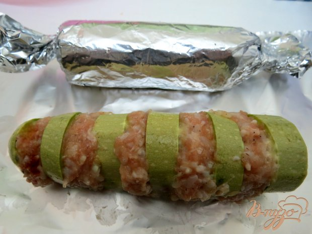 Кебаб из кабачка