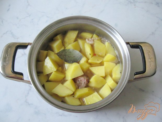 Жаркое из свинины с картофелем и сметаной