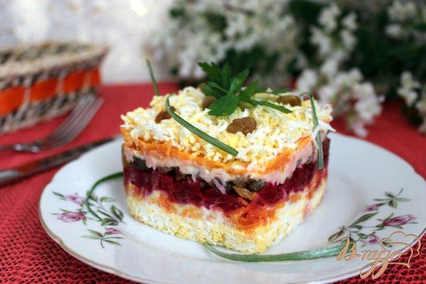 """Салат со свеклой """"Любимый"""""""