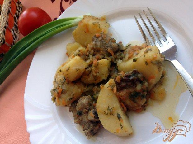 Картошка по домашнему со свинными ребрышками