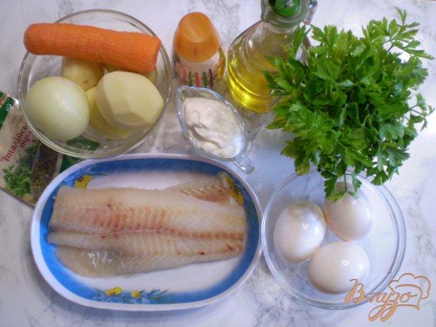 Рецепт Запеканка с рыбой и картофелем